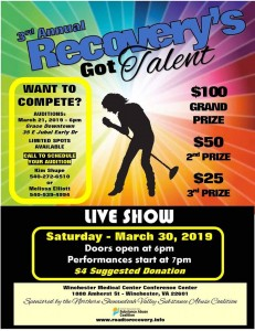 3rd Annual 2019 Recoverys Got Talent