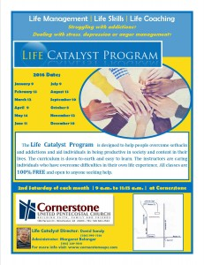 Life Catalyst Promotional Flyer 2016