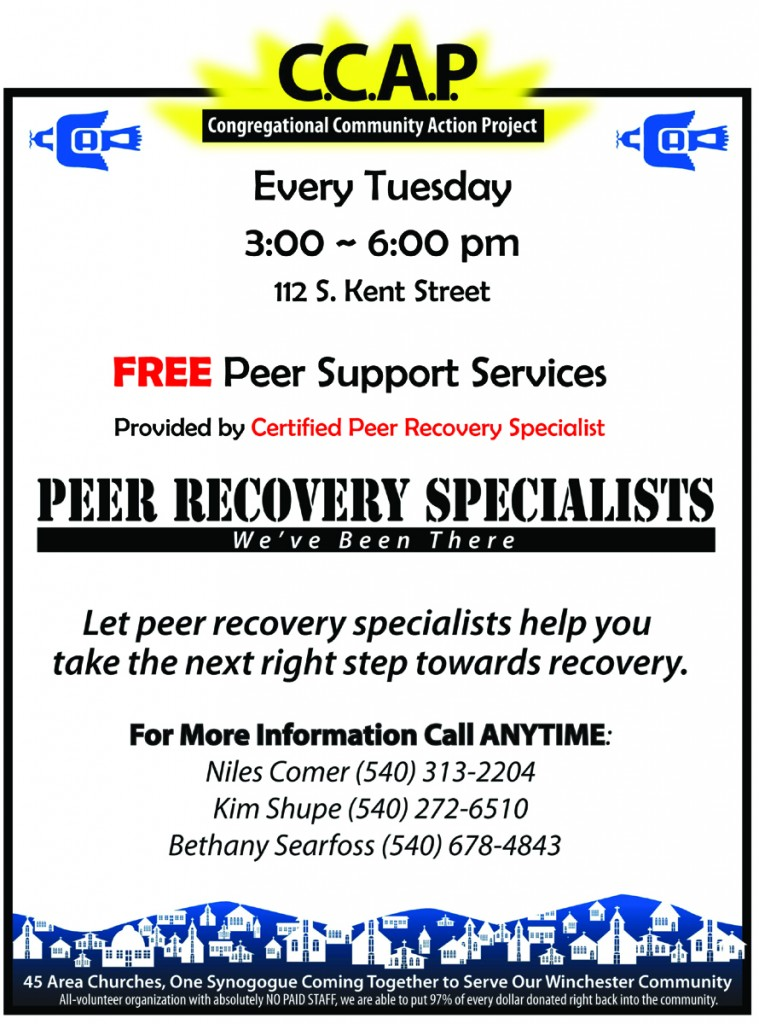 Peer Group Flyer - General Tuesdays