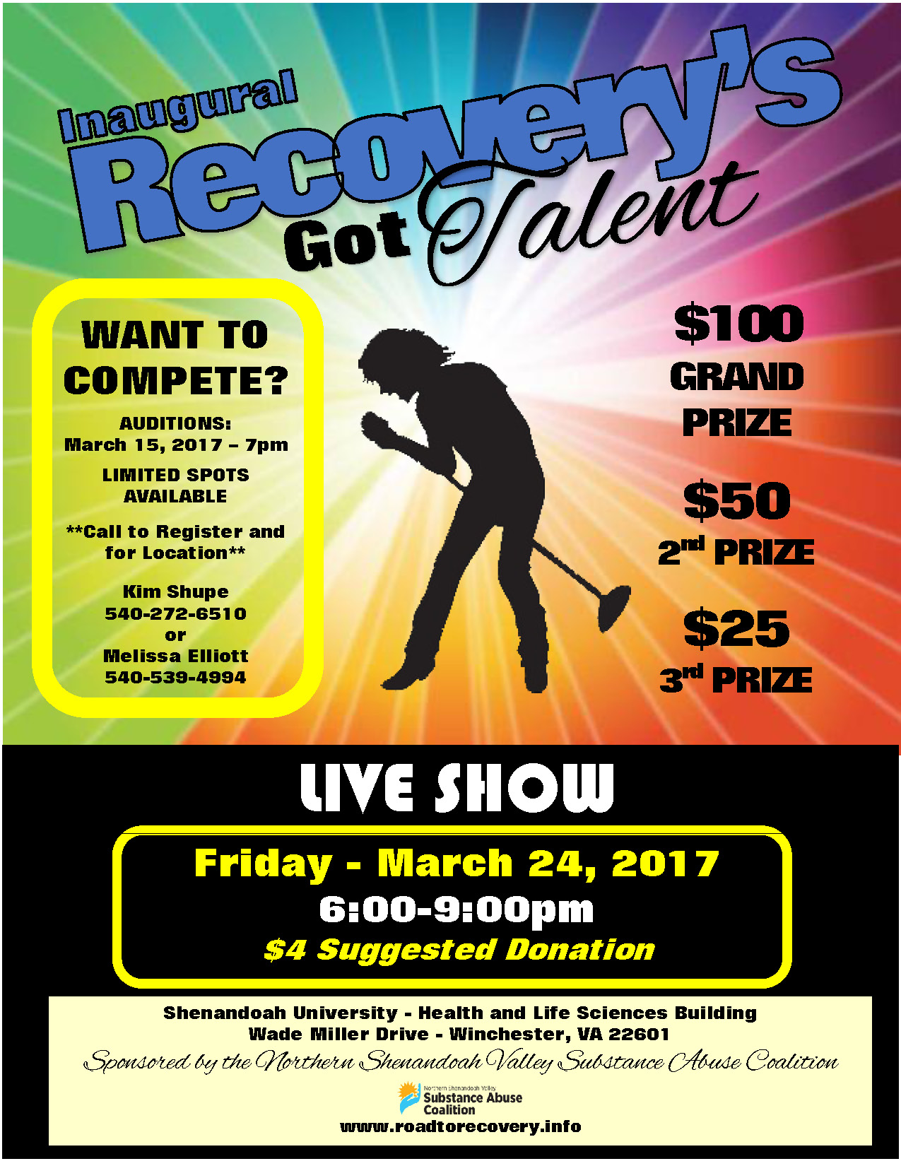 RECOVERYS GOT TALENT FLYER edited