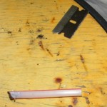Razor Blade and Snorting Straw